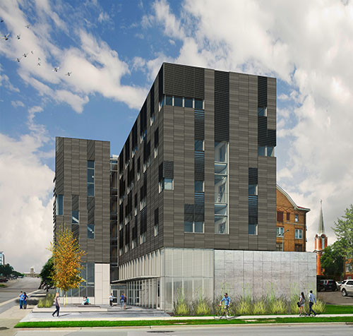 Rendering of new PBS building