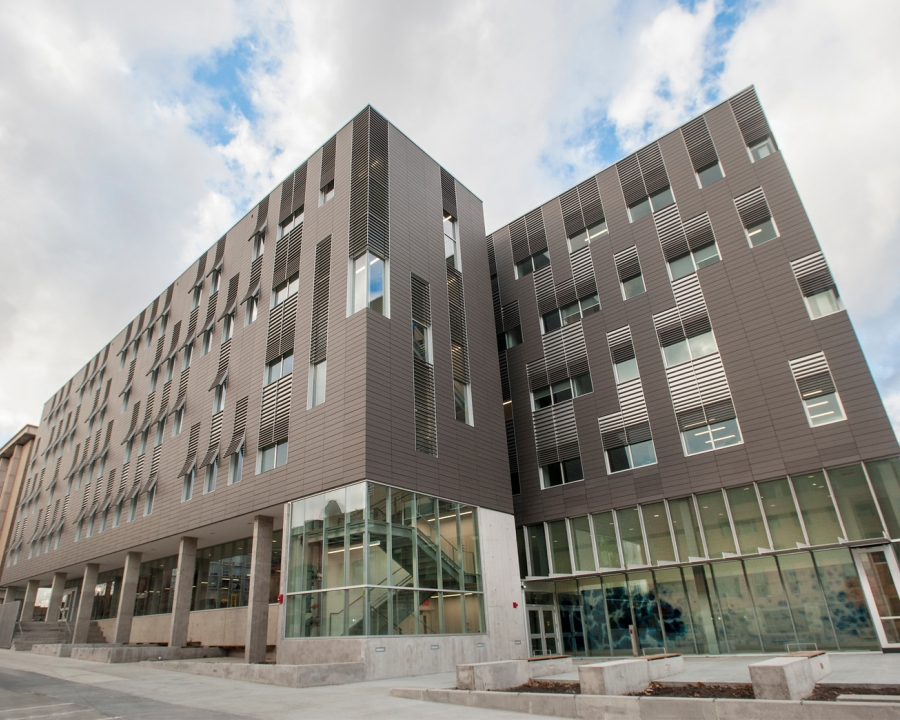 Front of Psychological and Brain Sciences Building