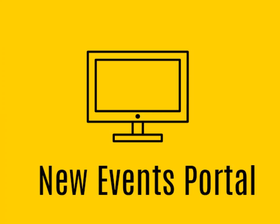 New Events Portal