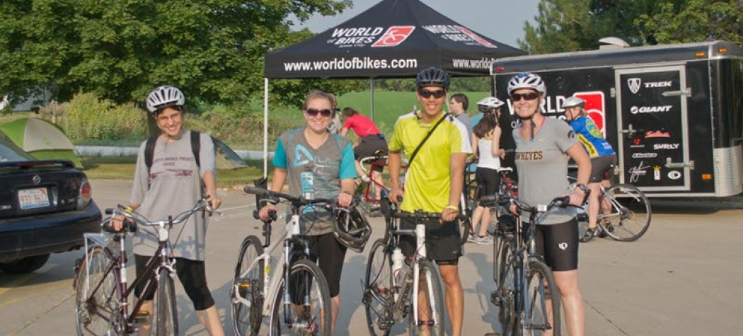 Group courage ride