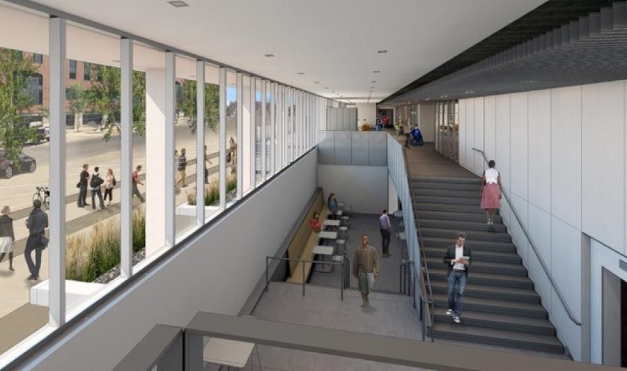 New PBS Building - Inside Rendering
