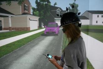 texting pedestrians